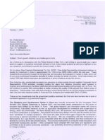 Dow Letters to PC and Nath