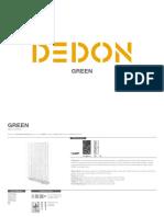 Dedon Fact Sheets Green