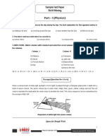 Sample Test Paper Std 8 Moving1