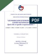 Forum Civil Des Marocains -Frcartel