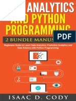 Data Analytics and Python Programming 2 Bundle Manuscript - Isaac D. Cody