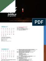 Calendario de Atividades 2017