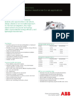 Effilight Traction Transformer Leaflet En