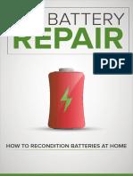 Diy Battery Repair