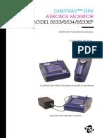 Dusttrak 8533 Manual