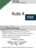 Eixos e Arvores AULA 4