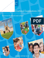 Cambridge International Examinations 2015