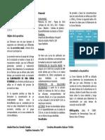 TÉCNICA - ELABORACIÓN DE LA CURVA ESTÁNDAR PARA BSP