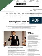 Everything Hannibal wore on 'Hannibal'   EW.com