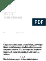 Bab 1 Himpunan