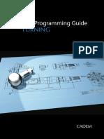 CNC Turning Programing Guide