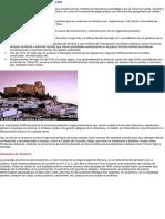 Castillos Almeria Arteguias