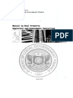 Manual on Real Property Appraisal and Assessment Operations