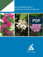 Manual de Identificación y Manejo de Malezas GALAPAGOS