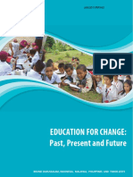 Education for Change-past Present and Future