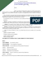 Reglamento de Seguridad Para El Almacenamiento de Hidrocarburos E