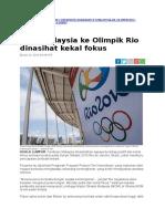 Berita Awani-Atlet Malaysia Ke Rio
