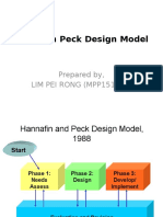 Hannafin Peck Design Model