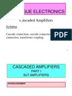 11 Chptr 3 - Multistage Amplifier (I)