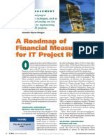 A Roadmap of Financial Measures for IT Project ROI