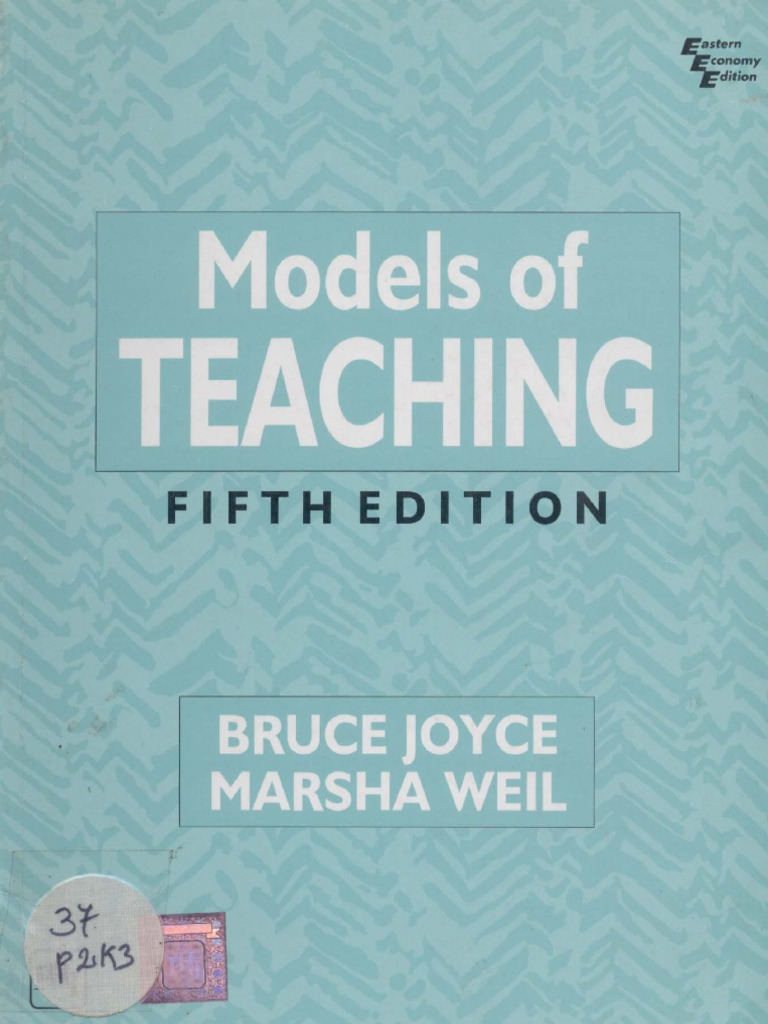 MODELS OF TEACHING (1).pdf | Metacognition | Learning