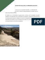 La Comunidad de Guayacondo Trabajo Complet