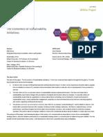 Whitepaper Economics of Sustainability Initiatives