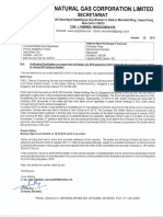 Oil & Natural Gas Corporation Ltd reply to clarification sought by the exchange [Company Update]
