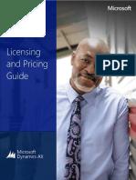 Microsoft Dynamics Ax 2012 r3 Licensing Guide