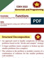 COEN 3222 -Module 10  C++ Fiunctions