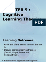 (8.3) Cognitive Learning Theory