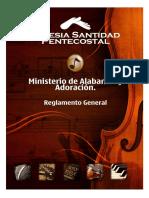 Iglesia Santidad Pentecostal Reglamento Alabanza