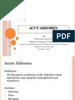13 Acut Abdomen