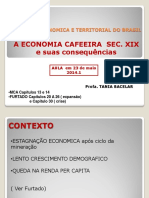 Economia Cafeeira 2014.1