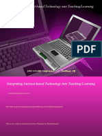 Integrating Internet-based-technology Into Teaching and Learning