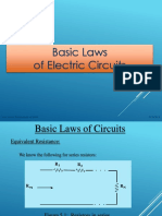 basic law of electronic circuits