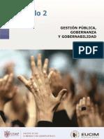 2 Gestión Pública, Gobernanza y Gobernabilidad