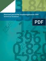 Verbond Van Verzekeraars Financieel Jaarverslag Verzekeringsbranche 2009