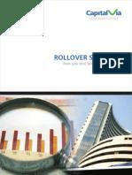 Rollover Statistics Jun'2010