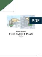 Fire Safety Plan - Assembly Occupancy