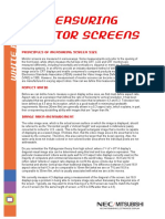 Measuring Screen Size