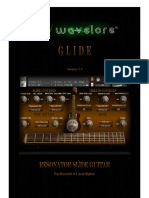 Wavelore Glide User Guide