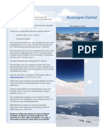 Sejour Le Clou - Wandelen Voorjaar-zomer en Wintersport - Super Ski a Lelioran - Randonne Neige Monts Du Cantal