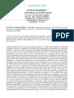 Sinosteel India P Ltd vs AgainstAssessee