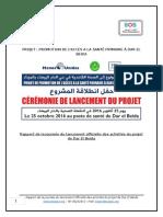 Rapport de La Journée de Lancement Du Projet