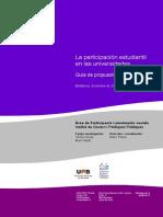 Participación Estudiantil en Las Universidades