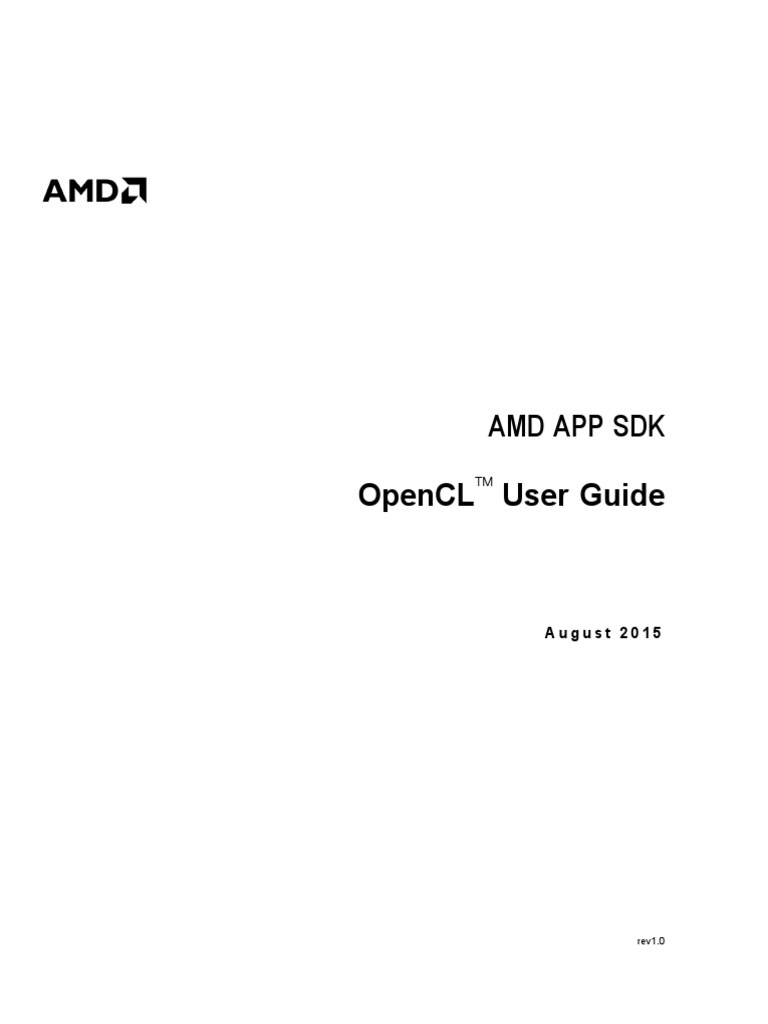 AMD OpenCL Programming User Guide | Parallel Computing | Kernel