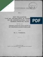 Het vraagstuk van de geldruimte in Nederland en de goudpolitiek van de Nederlandsche Bank