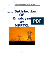 Job Satisfaction of Employee at Mpseb Ggits