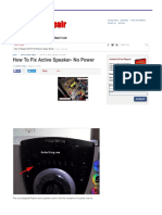 How To Fix Active Speaker- No Power _ Electronics Repair And Technology News.pdf